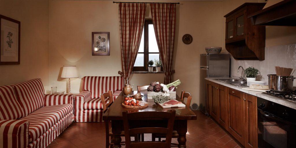 Appartamento vacanza piscina Poggio Gambassi Terme