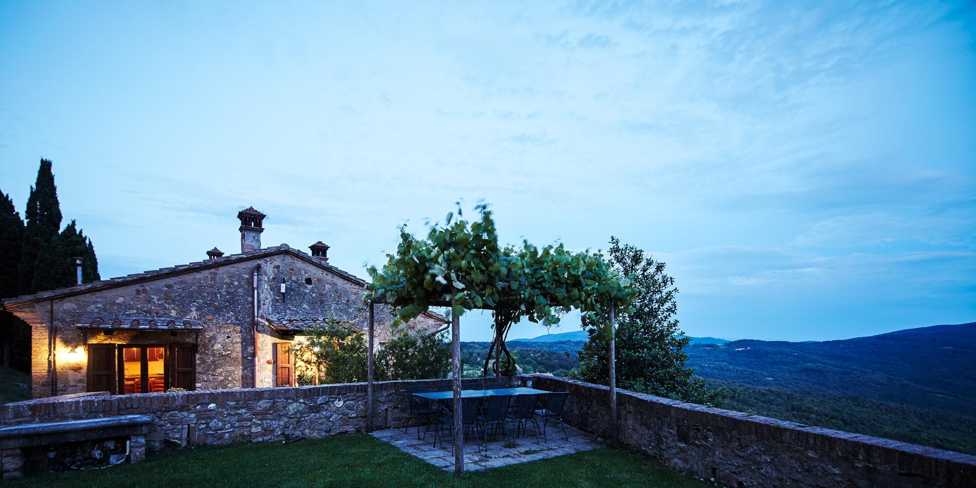 Appartamento vacanze toscana Guardiola Gambassi Terme