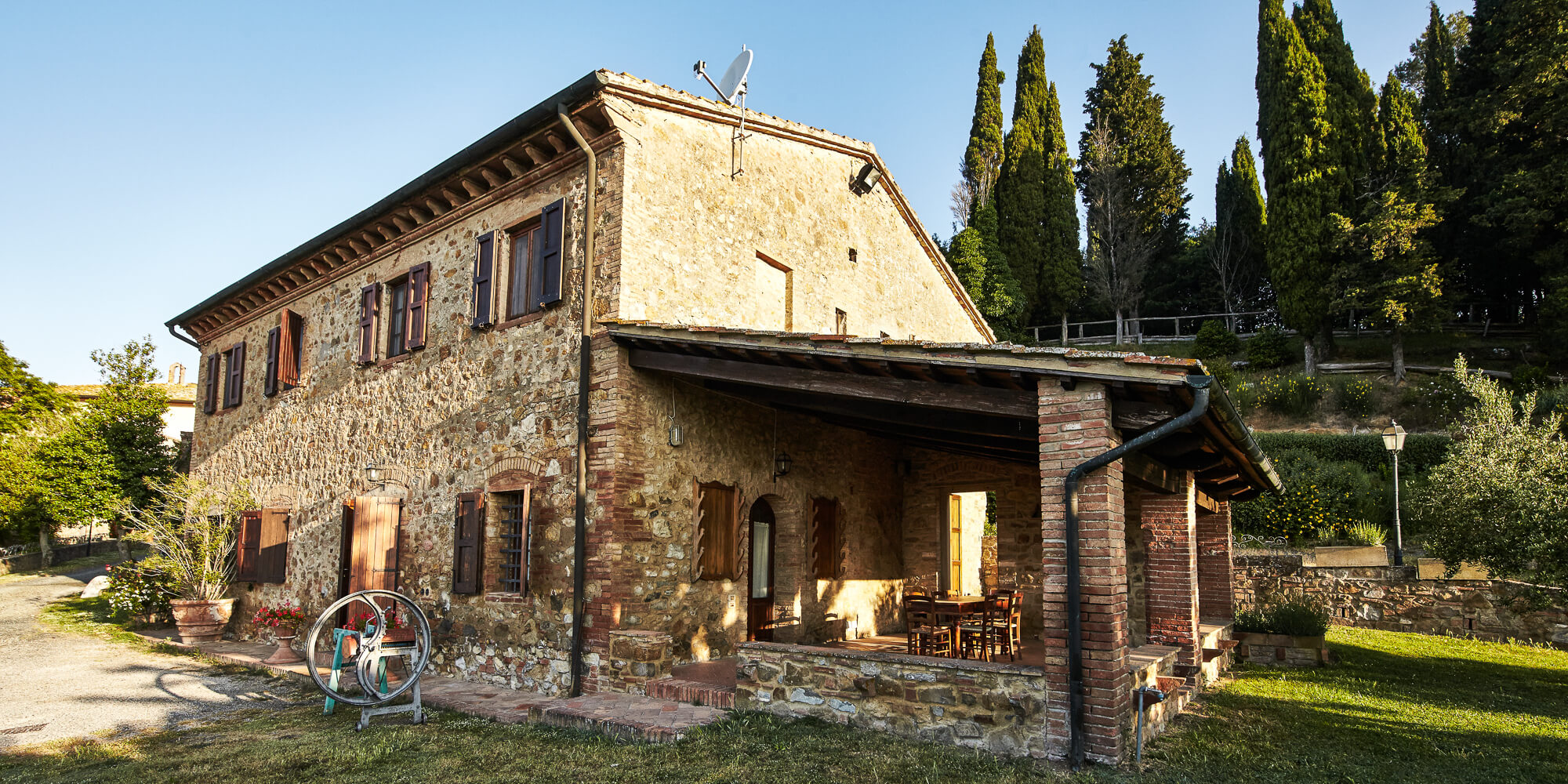 agriturismo san gimignano Montaione gambassi terme Borgo il Castagno