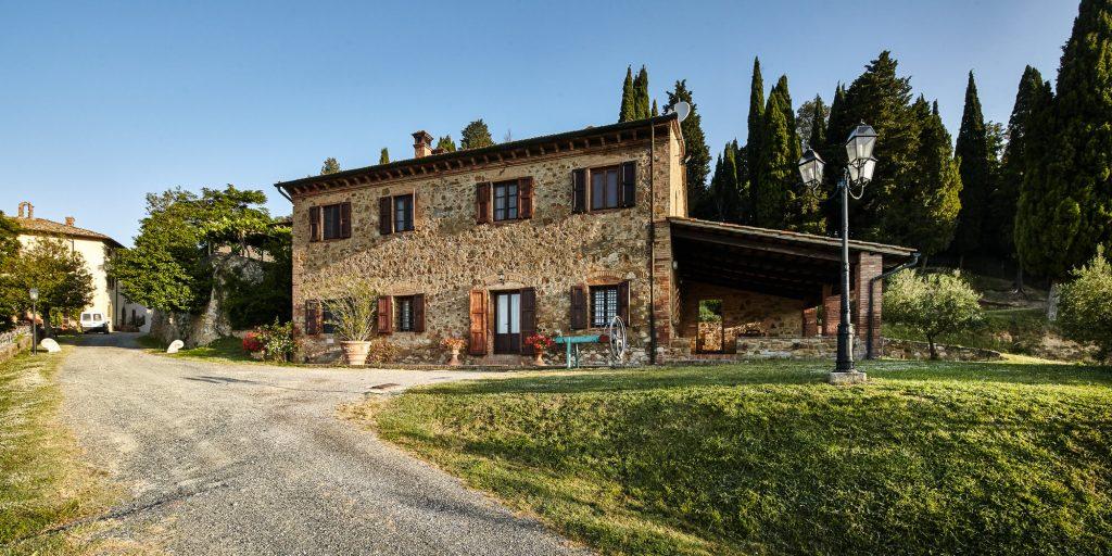 Appartamento casa vacanze coppie Caccia Gambassi Terme