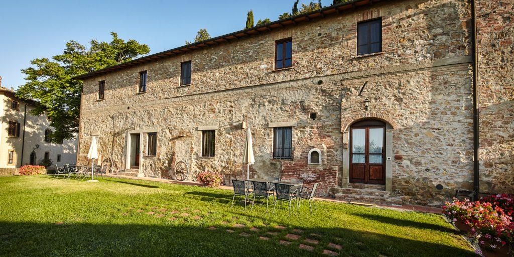 Appartamento casa vacanze piscina Arco Gambassi Terme