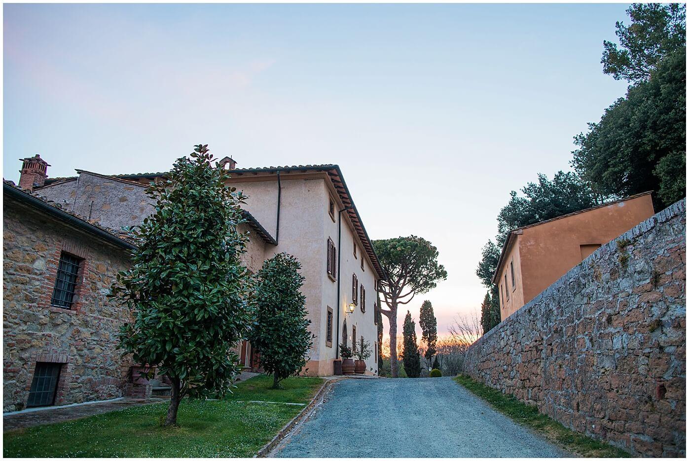 agriturismo san gimignano Montaione gambassi terme Borgo il Castagno con piscina